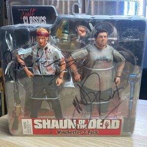 Rare Shaun of the Dead Winchester 2 Pack NEW